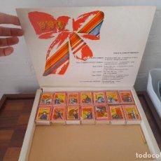 Cajas de Cerillas: CAJA CON CAJITAS DE CERILLAS CCCP. AÑOS 80.. Lote 284248683