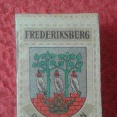 Cajas de Cerillas: CAJA FÓSFOROS MATCHBOX BOÎTE D´ALLUMETTES FREDERIKSBERG BY VAABEN DENMARK ? DINAMARCA ? DANMARK ?.... Lote 287867418