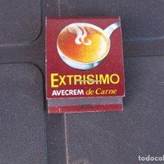 Cajas de Cerillas: CAJA DE CERILLAS - EXTRISIMO AVECREM DE CARNE COMPLETA. Lote 288111328
