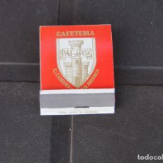 Cajas de Cerillas: PALAFOX SALAMANCA-BAR RESTAURANT KANSAS ESPOZ Y MINA 22 SALAMANCA-COMPLETO. Lote 288113813