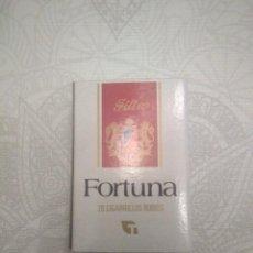 Cajas de Cerillas: CAJA DE CERILLAS TABACO FORTUNA. Lote 288293253