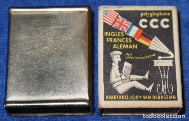 Cajas de Cerillas: Anriguo protector para caja de cerillas - Atlético de Madrid - Foto 4 - 288398938