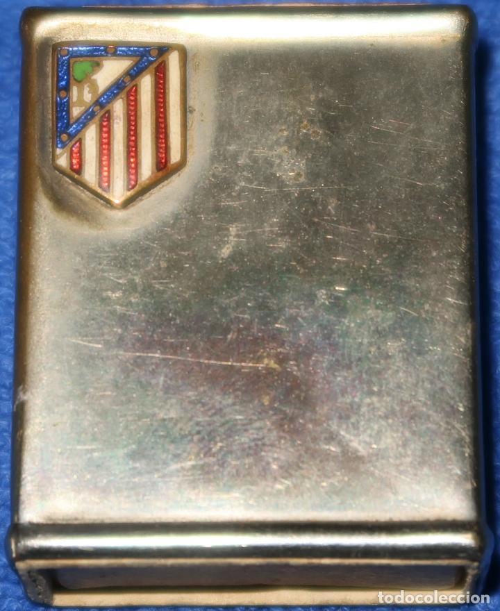 ANRIGUO PROTECTOR PARA CAJA DE CERILLAS - ATLÉTICO DE MADRID (Coleccionismo - Objetos para Fumar - Cajas de Cerillas)