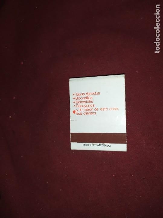 Cajas de Cerillas: ANTIGUAS CERILLAS ANTIGUA CAFETERIA KANSAS PLAZA ZARAGOZA 18 VALENCIA - Foto 2 - 290078848