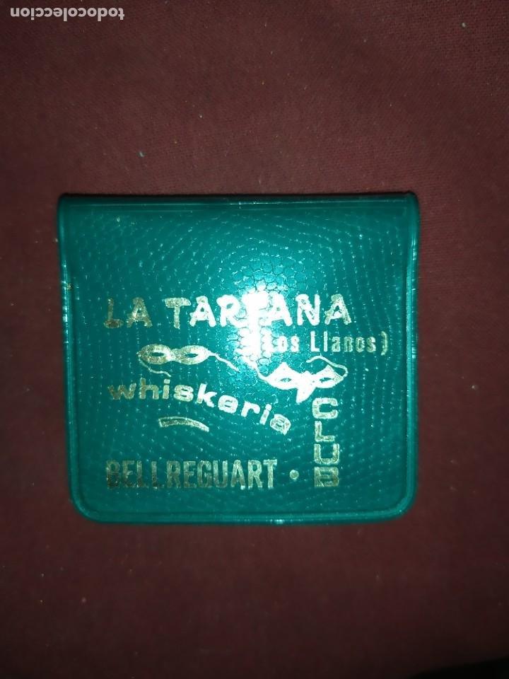 ANTIGUAS CERILLAS WHISKERIA LA TARTANA LOS LLANOS BELLREGUARD (Coleccionismo - Objetos para Fumar - Cajas de Cerillas)