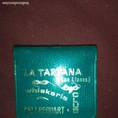Cajas de Cerillas: ANTIGUAS CERILLAS WHISKERIA LA TARTANA LOS LLANOS BELLREGUARD. Lote 290085908
