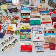 Cajas de Cerillas: LOTE DE MAS DE 500 CAJAS DE CERILLAS DE LIBRILLO TODAS CON FOSFOROS. Lote 292134998