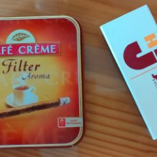 Cajas de Cerillas: DOS CAJAS CERILLAS CAFE CREME Y JAN ANDORRA. Lote 294128283
