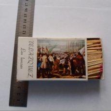 Cajas de Cerillas: CAJA DE CERILLAS - VELAZQUEZ - MUSEO DEL PRADO. Lote 295415888