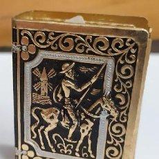 Cajas de Cerillas: FUNDA PARA CAJA DE CERILLAS DON QUIJOTE DE LA MANCHA . CER-1822. Lote 295795443