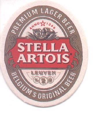 12-68. POSAVASOS STELLA ARTOIS (Coleccionismo - Botellas y Bebidas - Cerveza )