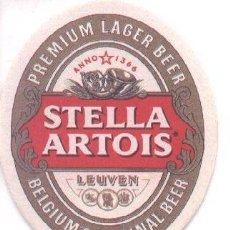 Coleccionismo de cervezas: 12-68. POSAVASOS STELLA ARTOIS. Lote 37243