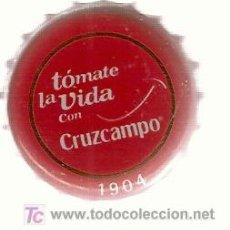 Coleccionismo de cervezas: CHAPA DE CERVEZA CRUZCAMPO.. Lote 3542821