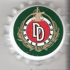 Coleccionismo de cervezas: 1 CHAPA CERVEZA DOUBLE DUTCH-HOLANDA-.NUEVA. DESCATALOGADA-----------LOTE N. 79------------CARMANJO. Lote 4230429