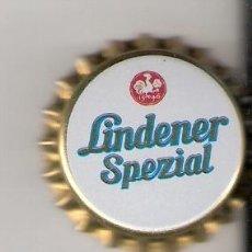 Coleccionismo de cervezas: 1 CHAPA CERVEZA LINDENER SPEZIAL-ALEMANIA-.IMPECABLE. NUEVA.----LOTE N. 72-------. Lote 4231111