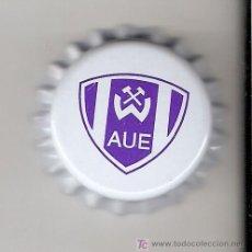 Coleccionismo de cervezas: 1 CHAPA CERVEZA WISMUT AUE TRADITIONSBIER-ALEMANIA-.NUEVA.------LOTE N. 63------------. Lote 4232076