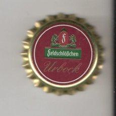Coleccionismo de cervezas: 1 CHAPA CERVEZA FELDSCHOBCHEN-ALEMANIA-.NUEVA.-----LOTE N. 61---------. Lote 4232174