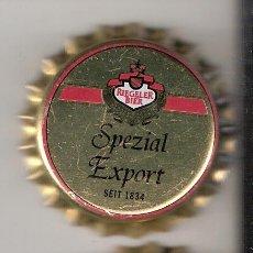 Coleccionismo de cervezas: 2 CHAPAS CERVEZA RIEGELER.ALEMANIA.NUEVAS Y DESCATALOGADAS. -----LOTE N. 58----CARMANJO. Lote 4232578