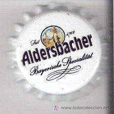 Coleccionismo de cervezas: 1 CHAPA CERVEZA ALDERSBACHER DE ALEMANIA.-----LOTE N. 54----------------CARMANJO. Lote 4412125