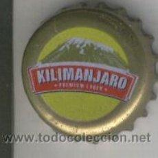 Coleccionismo de cervezas: CHAPA. TAPON CORONA. TAP CORONA. CERVEZA. CERVESA. KILIMNAJARO DE TANZANIA.. Lote 5844858