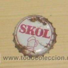 Coleccionismo de cervezas: CHAPA DE CERVEZA SKOL. 3.. Lote 7702171