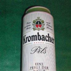 Coleccionismo de cervezas: LATA CERVEZA - ALEMANIA KROMBACHER PILS (50CL) 2001. Lote 10211317