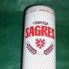 Coleccionismo de cervezas: LATA CERVEZA - PORTUGAL SAGRES (50CL) 1989. Lote 143135326