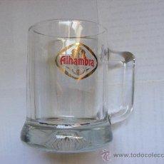 Coleccionismo de cervezas: 1 ANTIGUA JARRA CERVEZA AÑOS 90 - CERVEZAS ALHAMBRA. Lote 37183374