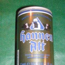 Coleccionismo de cervezas: LATA CERVEZA - ALEMANIA HANNEN ALT (33CL) 1989. Lote 11379018