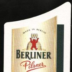 Coleccionismo de cervezas: POSAVASOS CERVEZA ALEMANA BERLINER. Lote 12923805