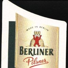 Coleccionismo de cervezas: POSAVASO CERVEZA ALEMANA BERLINER. Lote 12923826