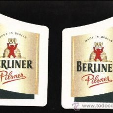 Coleccionismo de cervezas: POSAVASOS CERVEZA ALEMANA BERLINER. Lote 12923837
