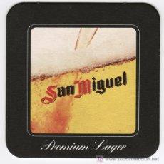 Coleccionismo de cervezas: POSAVASOS - CERVEZA SAN MIGUEL - PREMIUM LAGER. Lote 14504922