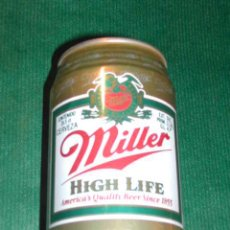 Coleccionismo de cervezas: LATA CERVEZA - MILLER HIGH LIFE 33,5CL (1990). Lote 13753816