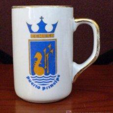 Coleccionismo de cervezas: JARRA CERVEZA-PUERTO PRINCIPE-CEMESA. Lote 27292682