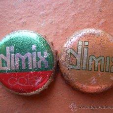 Coleccionismo de cervezas: 2 CHAPAS DE DIMIX (ALEMANIA)-----LOTE N. 524------CARMANJO. Lote 14348337