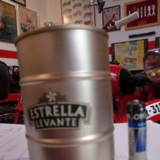 Coleccionismo de cervezas: BARRIL MINIATURA CERVEZA ESTRELLA DE LEVANTE. Lote 27117020