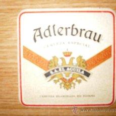 Coleccionismo de cervezas: POSAVASOS ADLERBRAU CERVEZA ESPECIAL. EL AGUILA. Lote 15808872