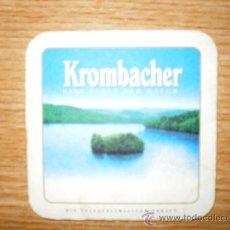 Coleccionismo de cervezas: BONITO POSAVASOS KROMBACHER. . Lote 15809104