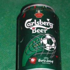 Coleccionismo de cervezas: LATA CERVEZA - DINAMARCA: CARLSBERG BEER UEFA EURO 2004 PORTUGAL, 33C, (2005). Lote 15904790