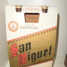 Coleccionismo de cervezas: BOTELLAS CERVEZA SAN MIGUEL. Lote 23304326