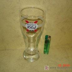 Coleccionismo de cervezas: VASO DE KRONENBOURG 1664 - 0.25 L -. Lote 17062506