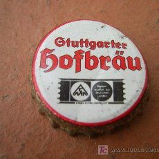 Coleccionismo de cervezas: 1 CHAPA CERVEZA HOFBRÄU. ALEMANIA. DESCATALOGADA. AÑOS 80. -----LOTE N. 601------CARMANJO. Lote 17115991