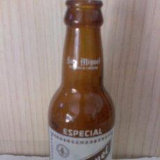 Coleccionismo de cervezas: BOTELLA VACÍA - SAN MIGUEL ESPECIAL 1/5 SERIGRAFIADA. Lote 44794066