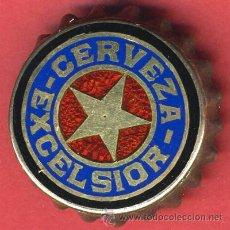 Coleccionismo de cervezas: CHAPA CERVEZA TROPICAL ,CUBA, ESMALTE Y ORO, LEER DESCRIPCION , ORIGINAL ANTIGUA , CH334 RB. Lote 22955743