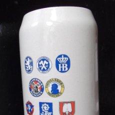 Coleccionismo de cervezas: GRAN JARRA DE CERVEZA ALEMANA. Lote 26875635