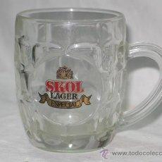 Coleccionismo de cervezas: ANTIGUA JARRA CERVEZA SKOL LAGER ESPECIAL. Lote 26407467
