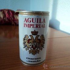 Coleccionismo de cervezas: LATA BOTE DE CERVEZA ÁGUILA IMPERIAL. LATERAL SOLDADO. AÑOS 80. Lote 27541588