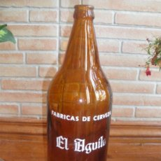 Coleccionismo de cervezas: LITRO DE CERVEZA EL AGUILA, VALENCIA MADRID CORDOBA.. Lote 27830183