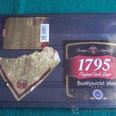 Coleccionismo de cervezas: ETIQUETAS -1795 BUDEJOVICKE-. Lote 28270948